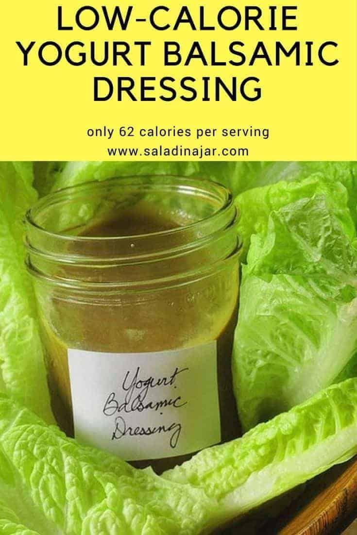 Healthy Balsamic And Yogurt Salad Dressing Recipe  Salad -6168
