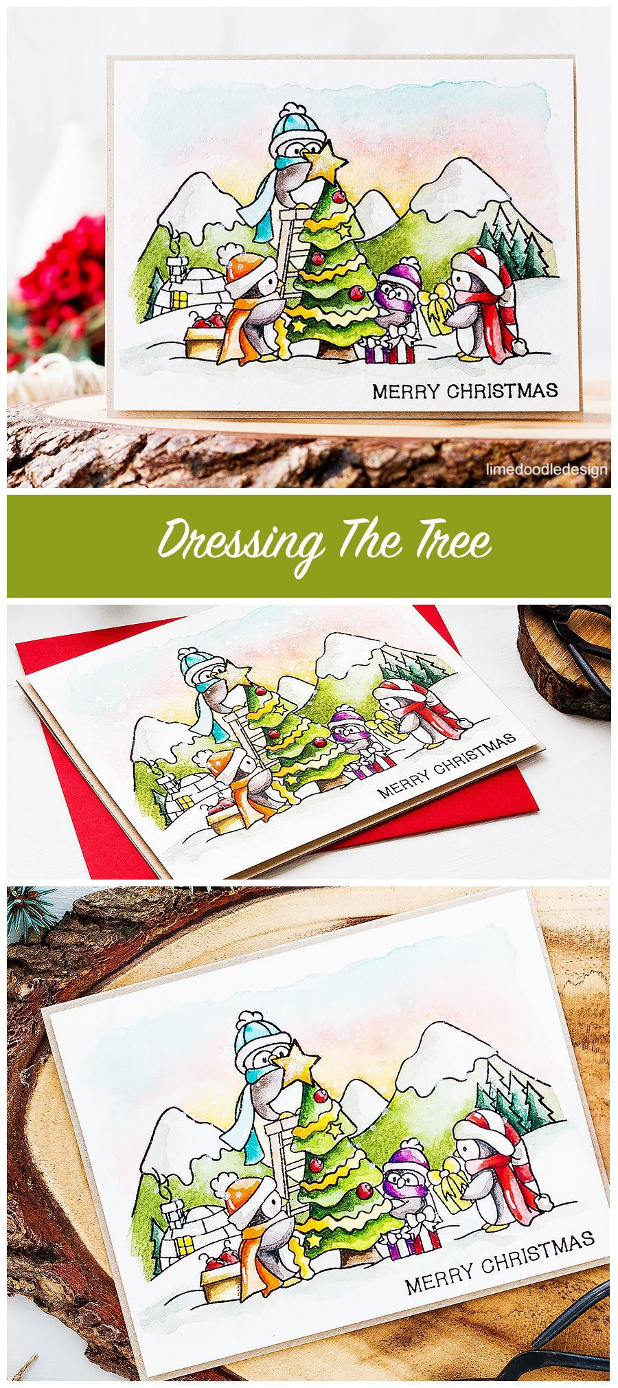 Video – Dressing The Tree | Cards, Christmas card images and ...