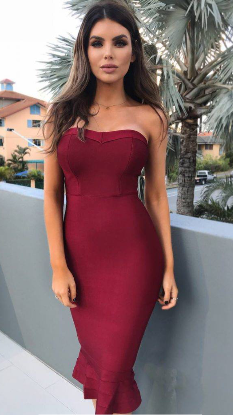 b662f1a5 Pin by Rich on Just down right good looking | Dresses, Tight dresses ...