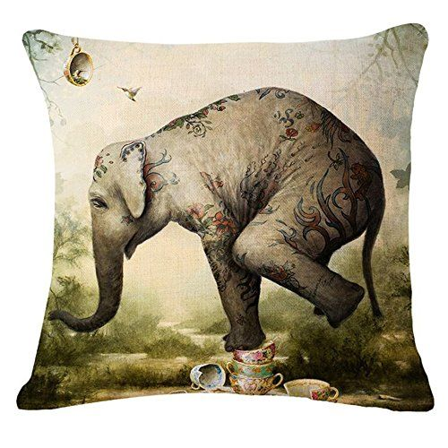 Elephant Printing Stuffed Cushion LivebyCare Linen Cotton... https://www.amazon.com/dp/B01EJYB4ZW/ref=cm_sw_r_pi_dp_x_yyizzb6W45KWT