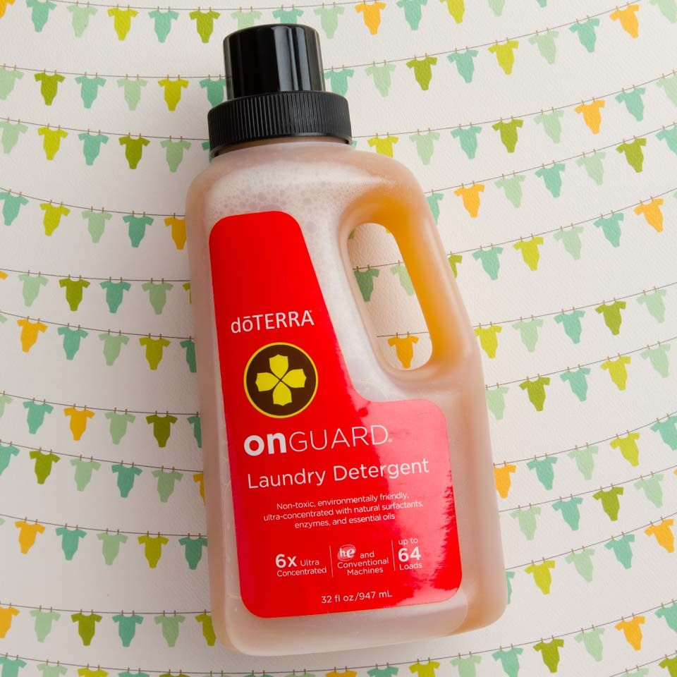 Product Spotlight Dōterra On Guard Laundry Detergent Essential