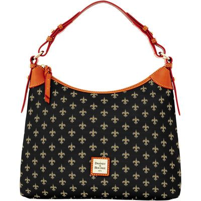 dcbad3cd New Orleans Saints Dooney & Bourke Women's Hobo Purse - Black | Who ...