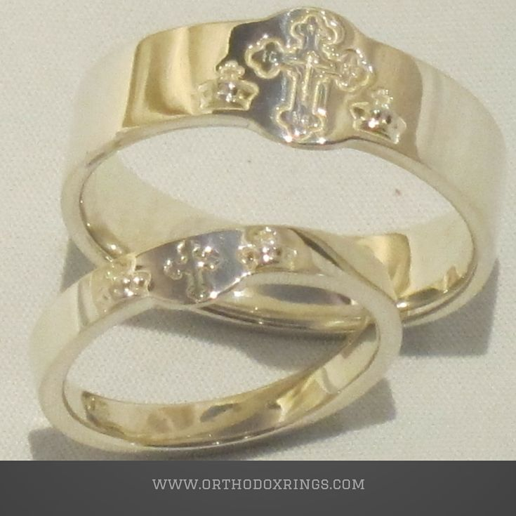 Our classic Orthodox Wedding Crowns matched bridal set  shown here ready to  be shipped offRussian Orthodox rings series  Orthodox Christian men s wedding  . Orthodox Wedding Rings. Home Design Ideas