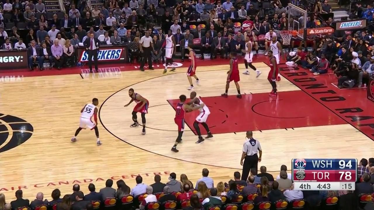 John Wall's amazing block leads the TOP 10 DEFENSIVE PLAYS of the Week!