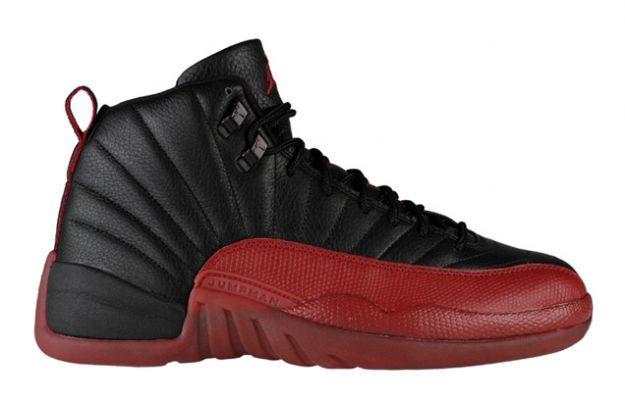 best sneakers 683d3 25625 Air Jordan 12 (XII) Retro - Playoffs Noir   Rouge Varsity