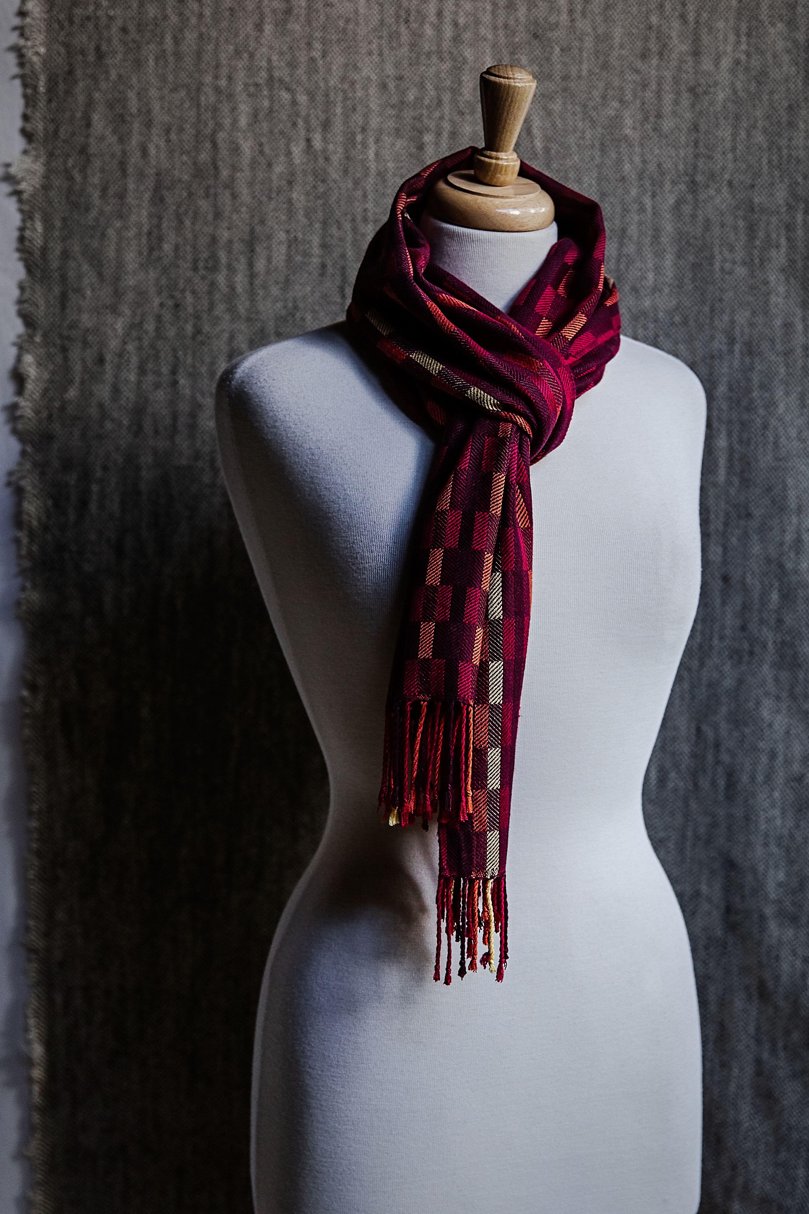 Kiki's Bambu Scarf Kit | Weaving 3 | Weaving, Hand weaving