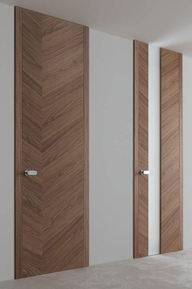 Hinged wooden door TOKYO - Ghizzi  Benatti PuertasVentanas - puertas interiores modernas