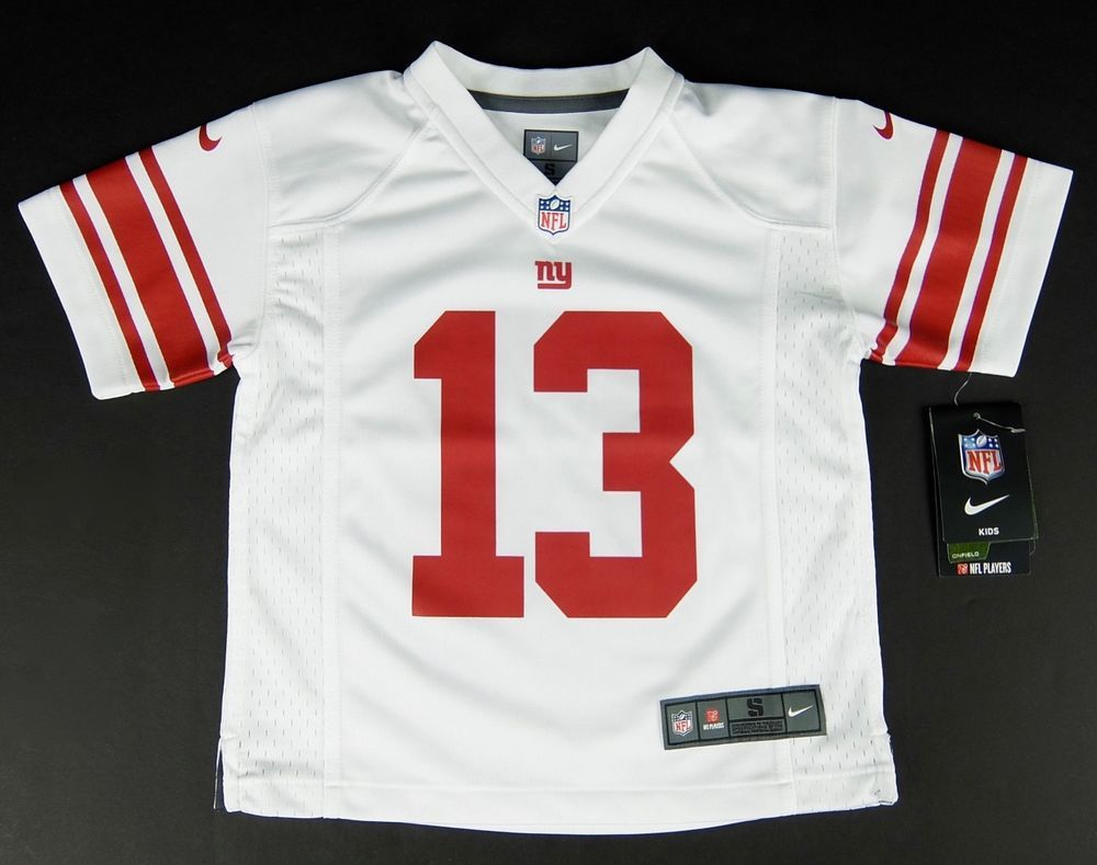 49a1e698d Boys Kids Nike New York Giants Odell Beckham Jr. Jersey  13 White Size S M  L 4-7  Nike  NewYorkGiants