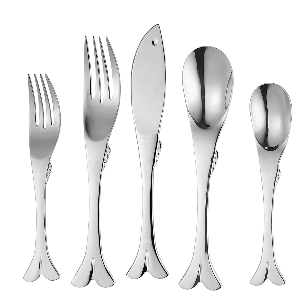 Free 2 Day Shipping Buy Supreme 20 Piece 18 8 Stainless Steel Flatware Set With Fish Style Service For 4 In 2021 Stainless Steel Flatware Flatware Set Knife And Fork 18 8 stainless steel flatware