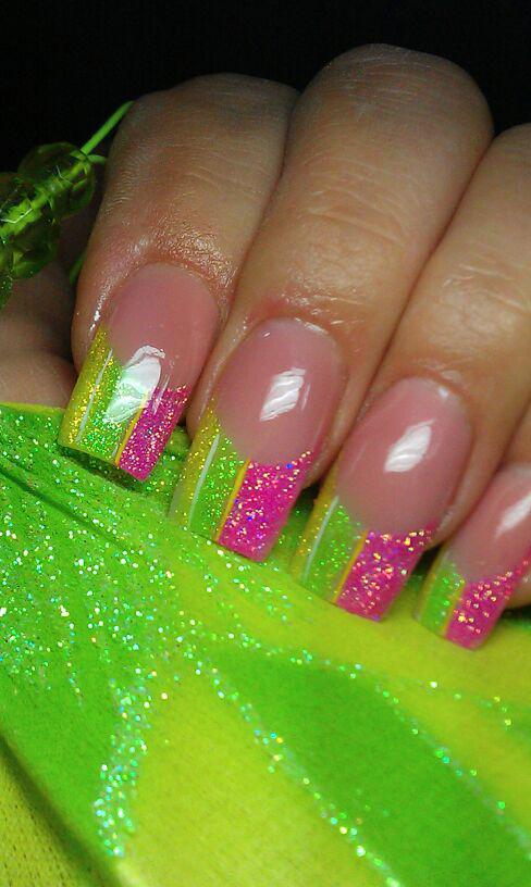 Pretty Painted Fingers & Toes Nail Polish| Serafini Amelia| neon ...