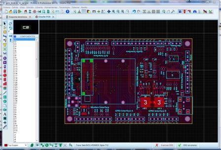 Proteus Placa De Circuito Impreso Sistema Electronico Electrónica