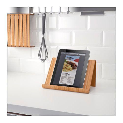 rimforsa support tablette bambou offrir cadeau et id e. Black Bedroom Furniture Sets. Home Design Ideas
