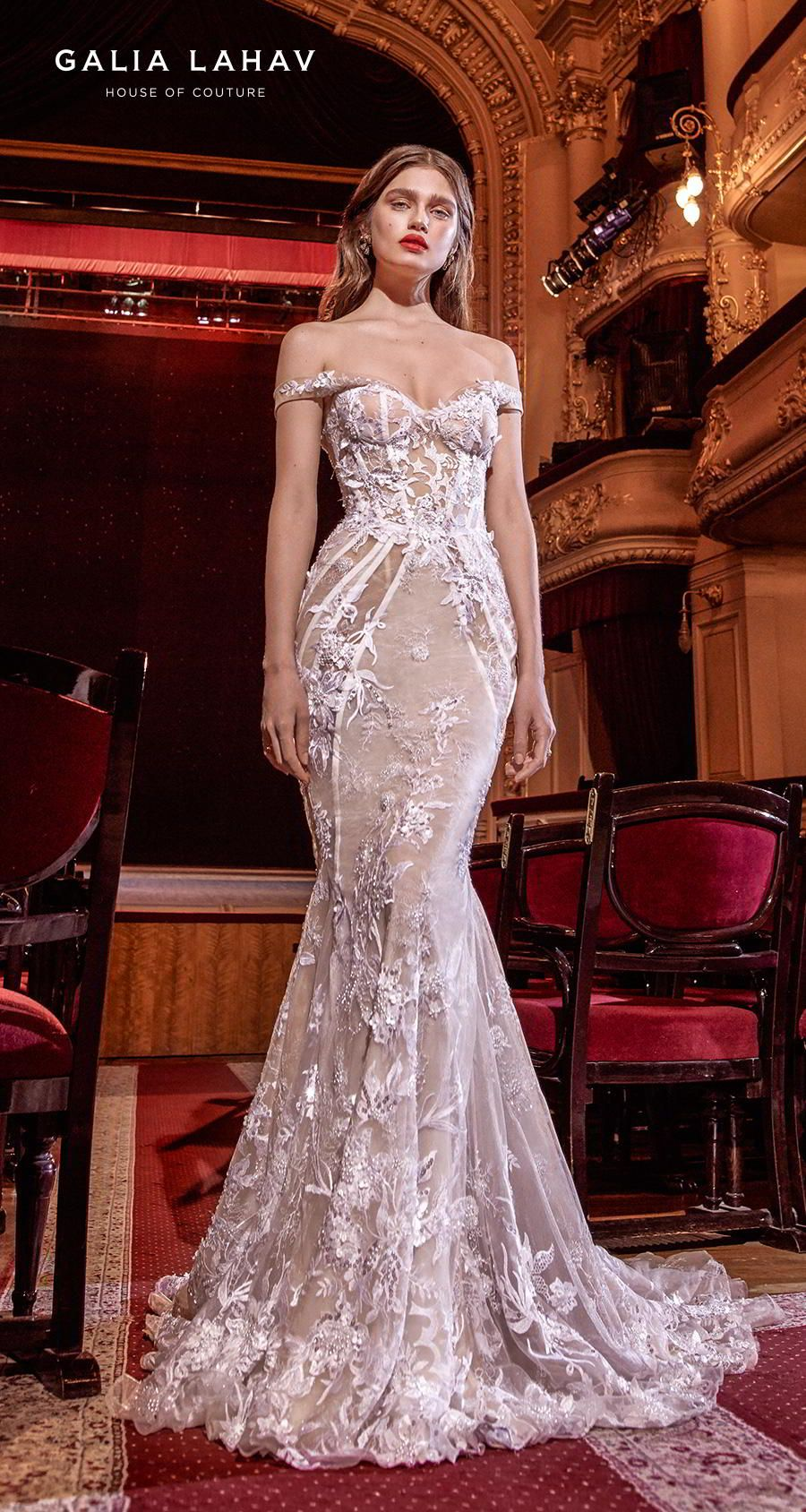 Steal The Show With Galia Lahav Spring 2020 Wedding Dresses Make A Scene Couture Bridal Collection Wedding Inspirasi Wedding Dresses Corset Mermaid Dresses Galia Lahav Wedding Dress [ 1688 x 900 Pixel ]