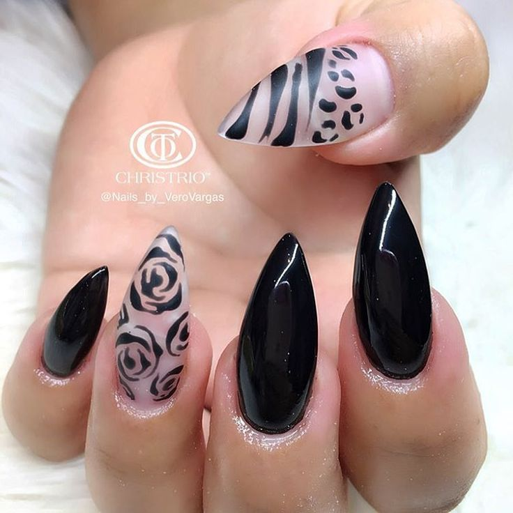 Pin by Bnails on Christmas Nails | Pinterest | Leopard nails and ...