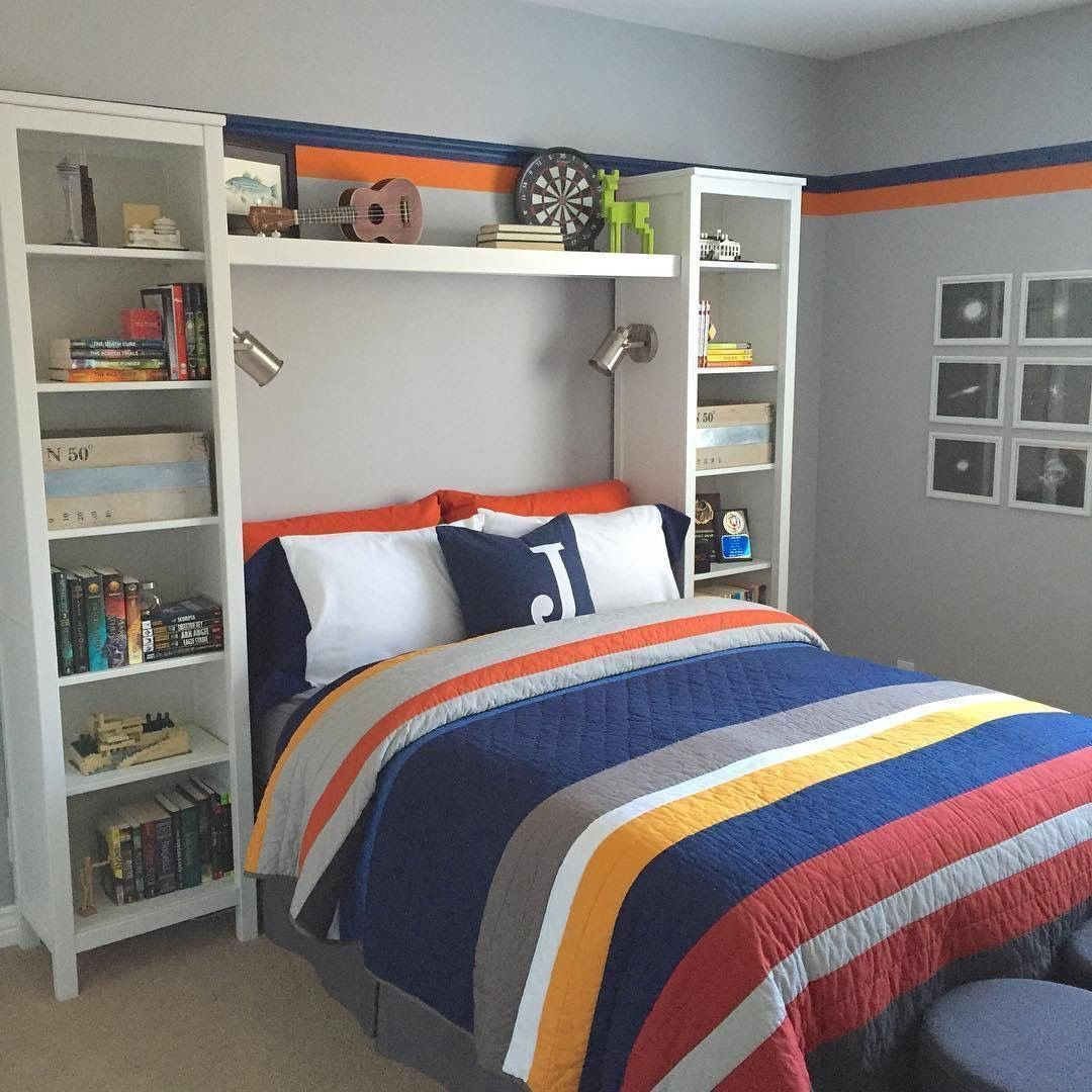 49 Cool Small Bedroom Ideas For Boys Small Room Bedroom Boys Bedroom Decor Boys Room Decor