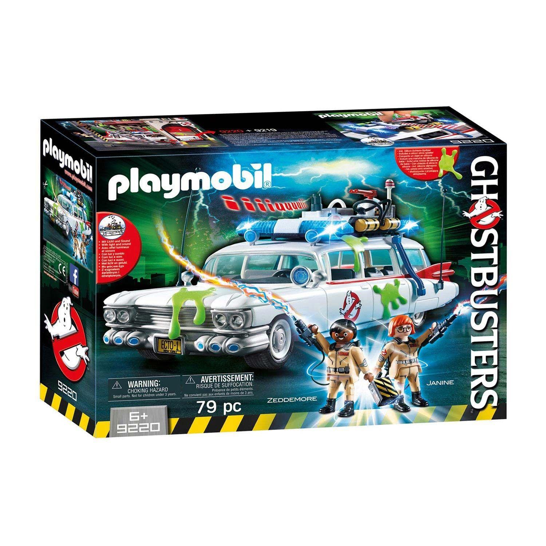 Spielfigur Playmobil 9220 Ghostbusters Ecto-1 Geisterjäger Figuren Licht Sound