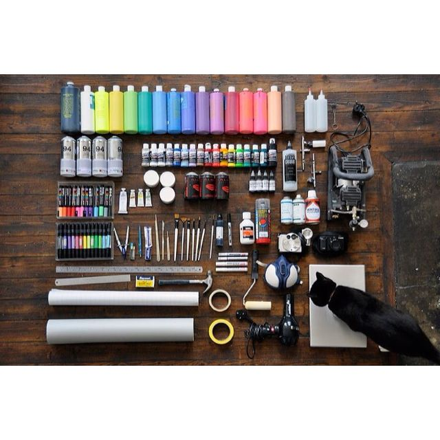 Graffiti Spray Paint Starter Kit