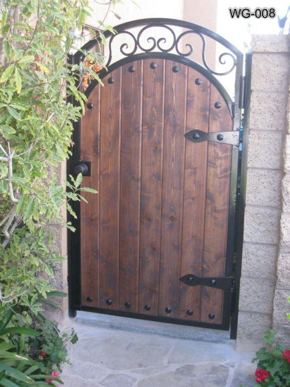 Wooden Gates Wood Doors Advanced Iron Concepts Ornamental Iron Gates Wooden Gates Wood Gate