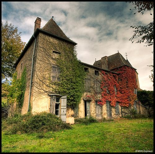 Blue Chateau by Martino ~ NL, via Flickr