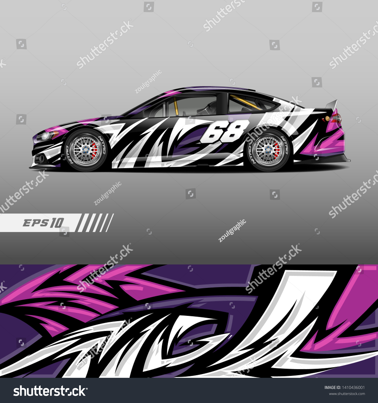 Shutterstock Livery Racing Png Custom Sticker