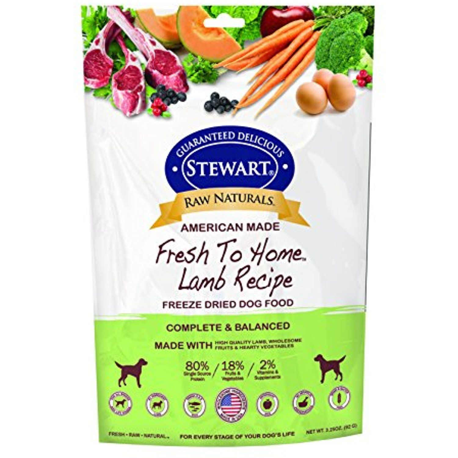 Stewart 402765 Lamb Raw Naturals Freeze Dried Dog Food 3 25 Oz You Can Read More Reviews Of The Dog Food Recipes Raw Dog Food Recipes Freeze Dried Dog Food