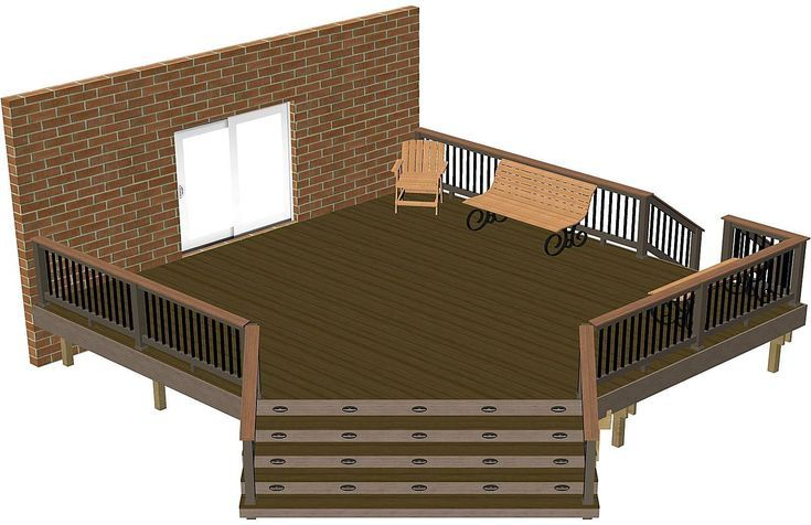Build your dream deck with one of these free do it yourself plans build your dream deck with one of these free do it yourself plans solutioingenieria Image collections