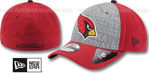 Cardinals  2014 NFL DRAFT FLEX  Burgundy Hat by New Era on hatland ... 1d5115837
