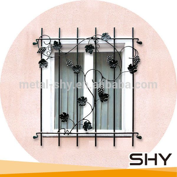 Wrought Iron Window Grills Grill Design 5