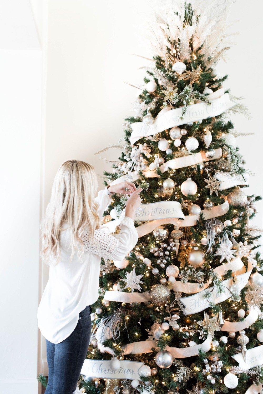 Glam Christmas Decor | Christmas | Pinterest | Christmas decorations ...