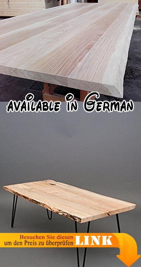 B078J7F8PZ  Tisch aus Kastanienholz Holz massiv Dicke 6cm - armatur küche ausziehbar