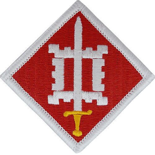 Army Patch: 18th Engineer Brigade - color | us army sapper