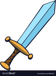 Image Result For Cartoon Sword Artist At Work Cartoon Art