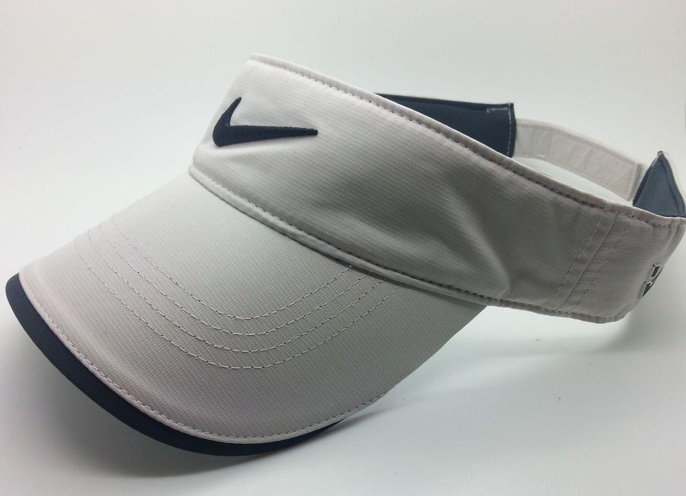 NIKE GOLF RZN VRS ADULT UNISEX DRI FIT BONE VISOR (ONE SIZE FITS ALL) --  NEW  Nike  GOLFVISOR 1f13437295f9