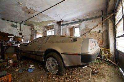 DeLoreans!
