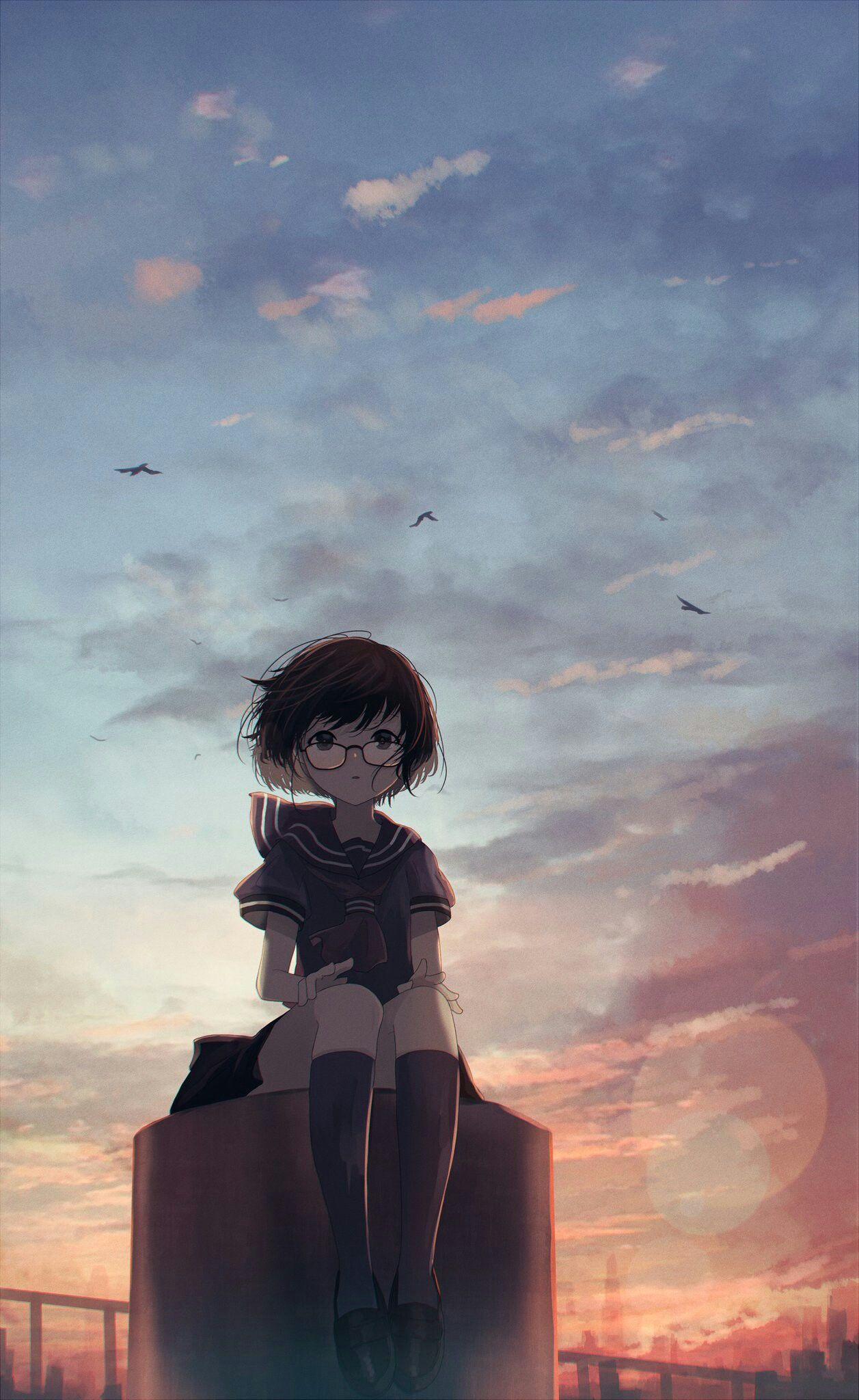Anime Wallpaper Animewallpapers Animegirl Kurdishotaku Kawaii Art خلفيات أنمي بنات Ilustrasi Ilustrasi Karakter Gambar Anime