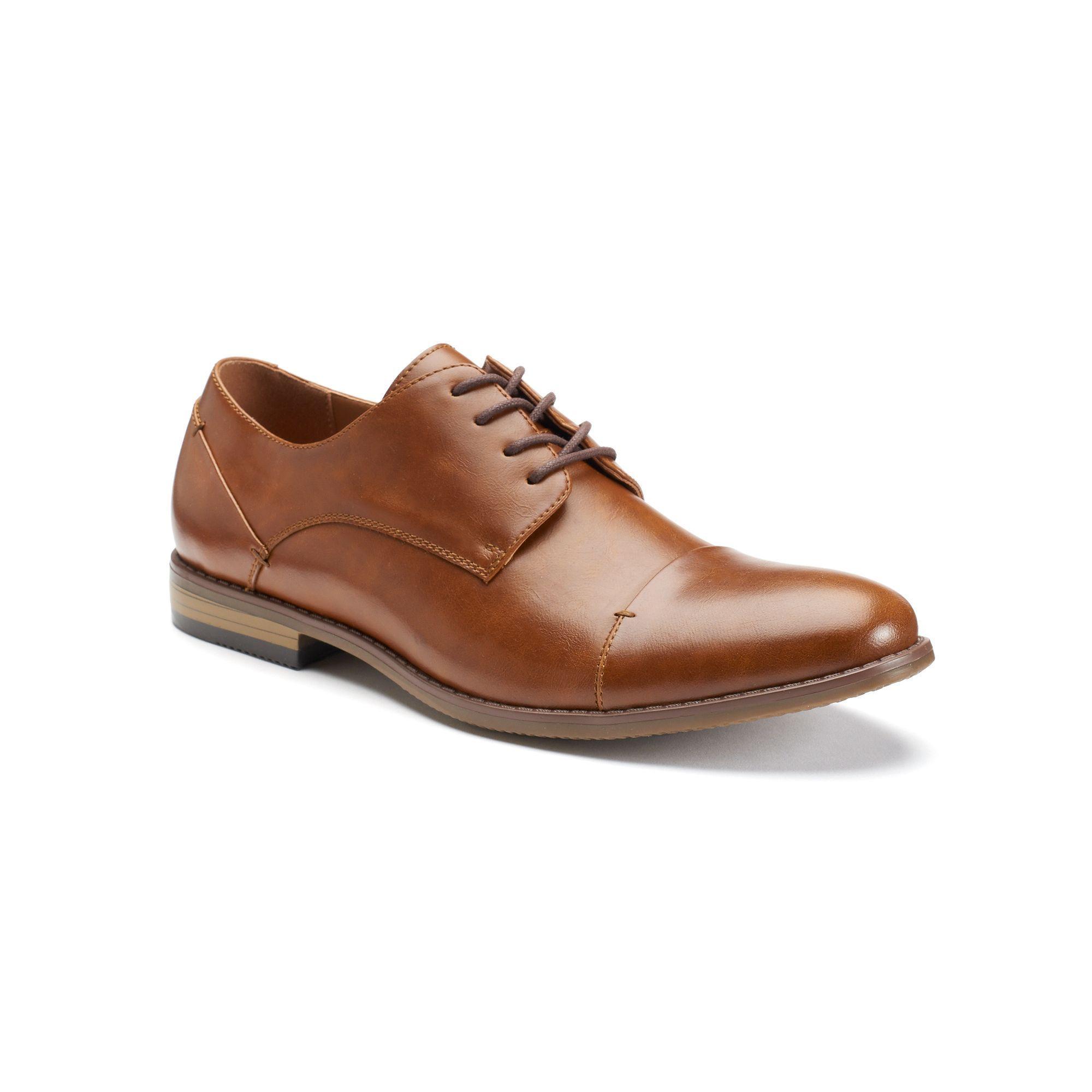 SONOMA Brendan Men/'s Dress Shoes  Oxfords  Black  Lace Up  Formal  Medium  NEW