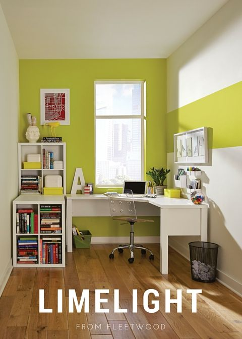 Colour For Study Room: Bright Days Are Ahead So Why Not Begin Some Home