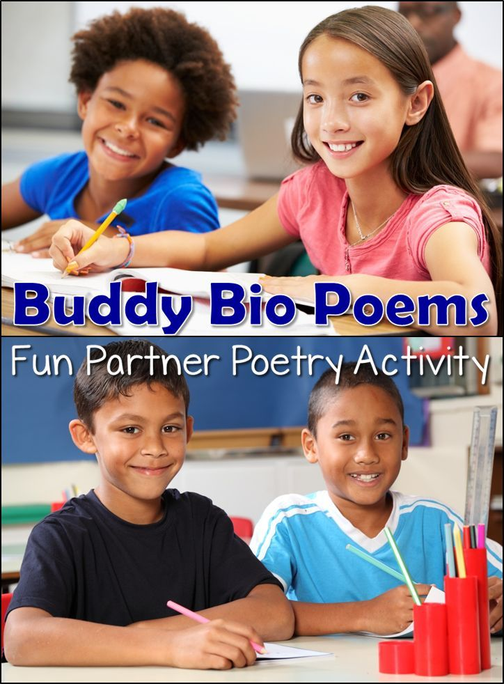 buddy bio poems a fun poetry writing activity for partners students interview a classmate and then write a bio poem about their partners - 30 Limerick Examples Funny Cooperative