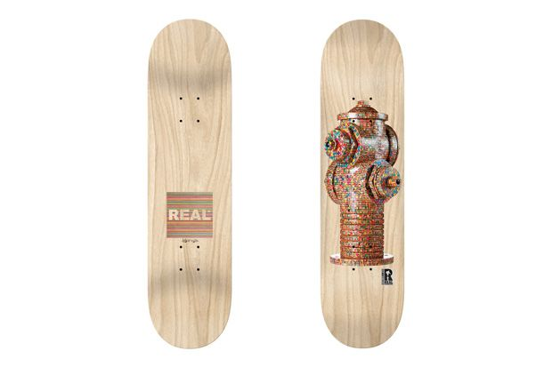 HUF x Haroshi x Real Hydrant Deck | Hypebeast