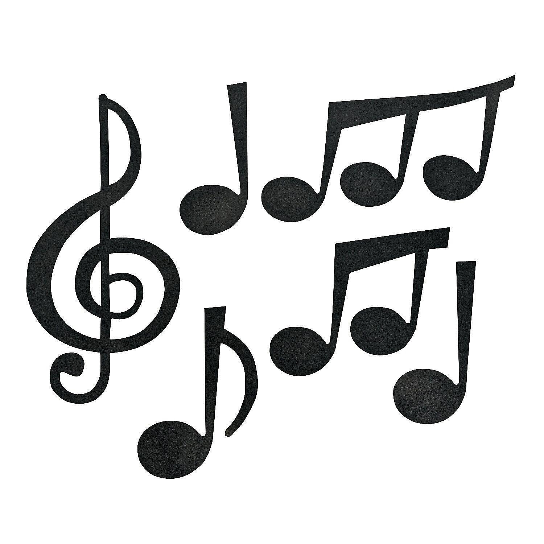 Jumbo Music Note Cutouts | Oriental Trading