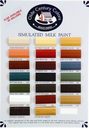 Olde Century Colors Simulated Milk Paint