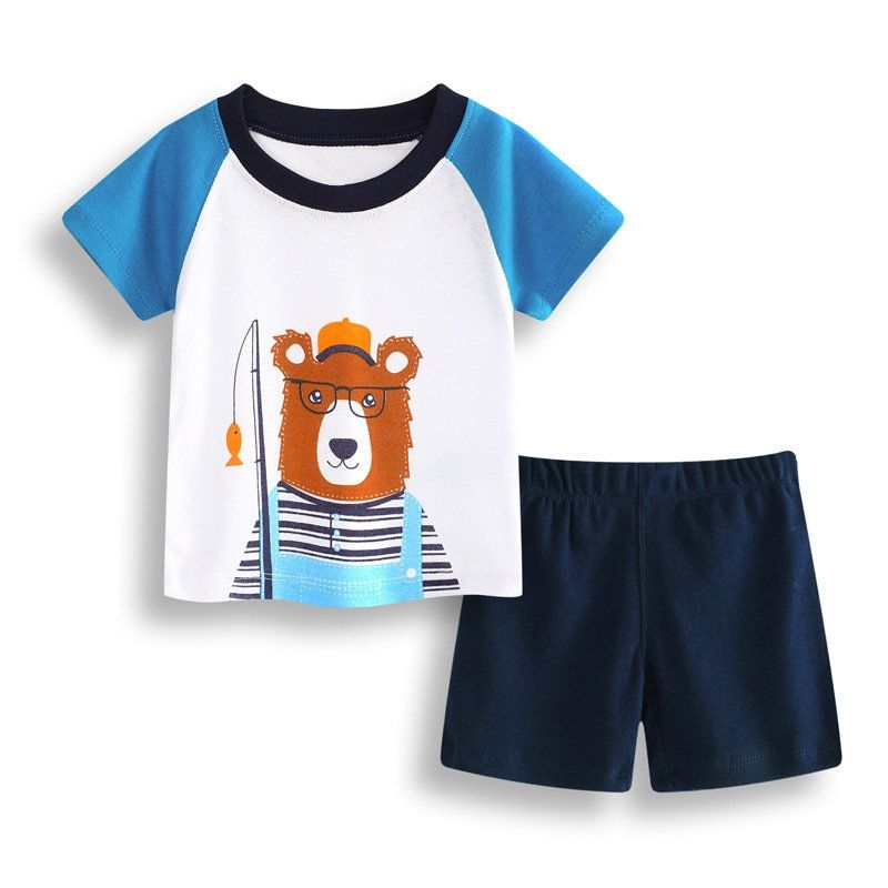 Baby boy clothing bears baby clothes, baby shorts