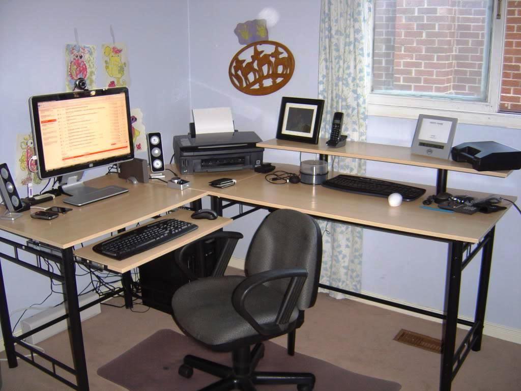 Fresh Cool Corner Desk
