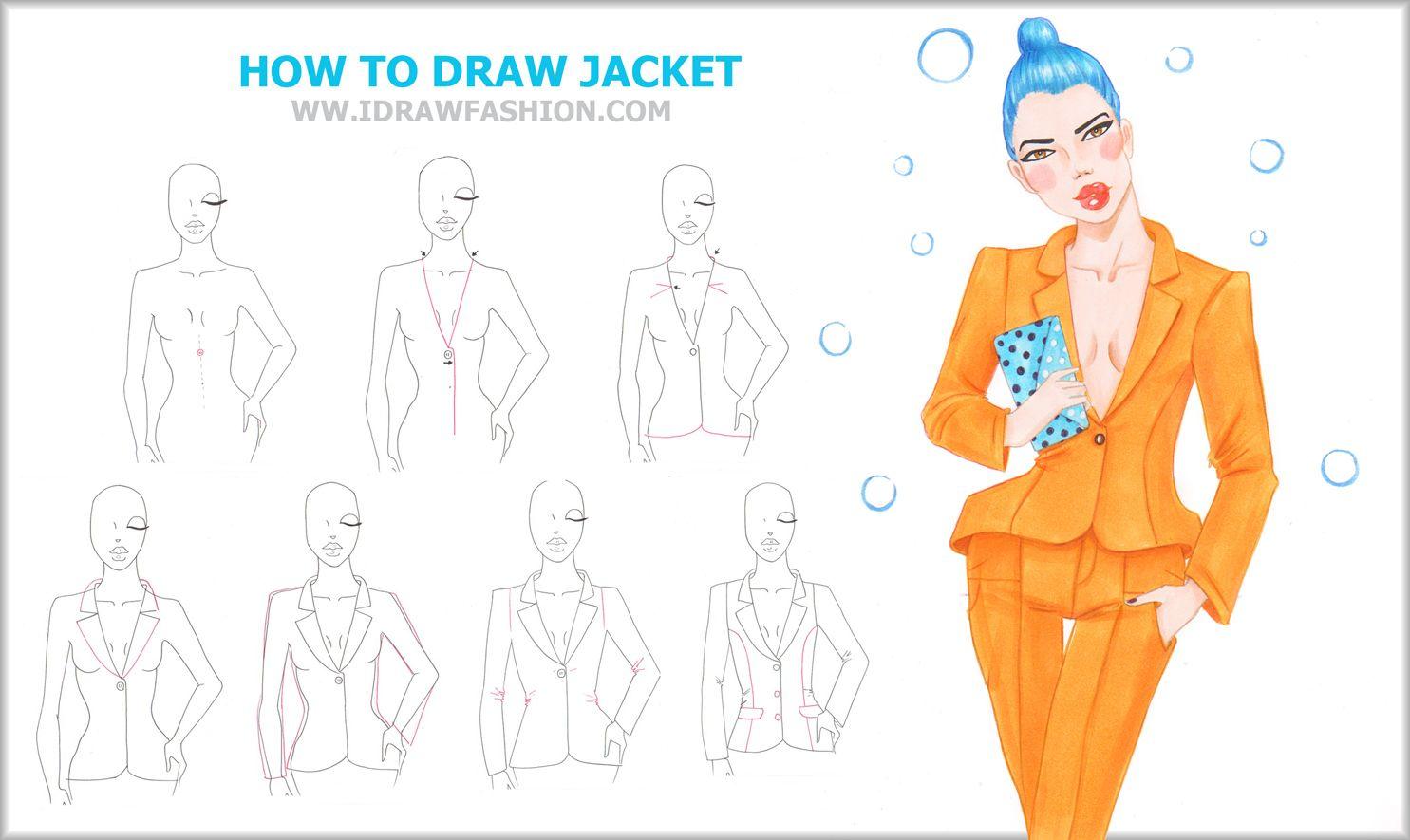 http://www.idrawfashion.com/ Learn how to draw fashion sketches step by step