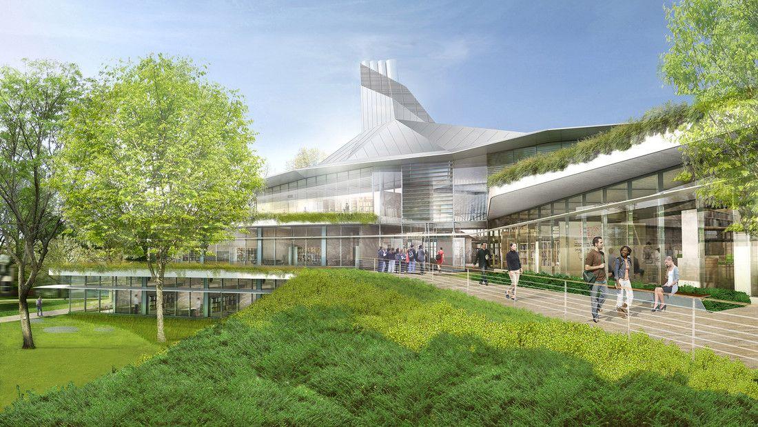 Behnisch Architekten / Amherst College Science Center