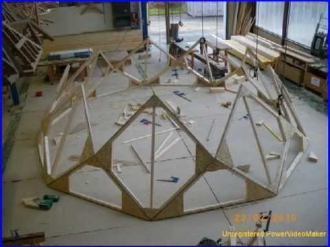 Comment construire un dôme géodésique Construction, Yurts and Tiny - plan fabrication eolienne maison