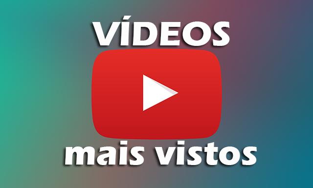Top 10 Vídeos Mais Vistos Do Youtube Em Todos Os Tempos Atualizado Videos Mais Vistos Musicas Mais Tocadas Youtube
