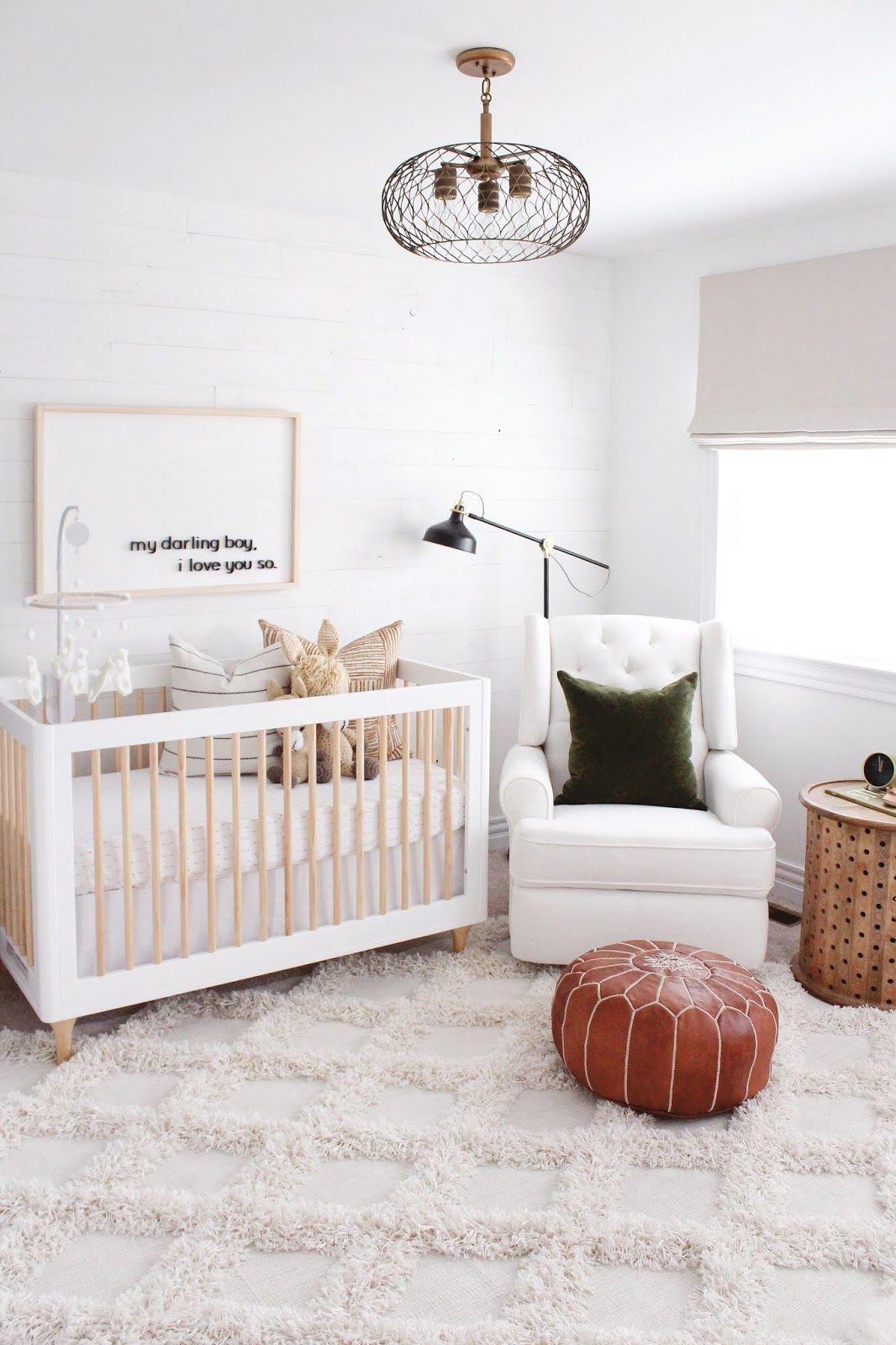 Best Modern Boho Neutral Nursery Reveal With Images Nursery 400 x 300