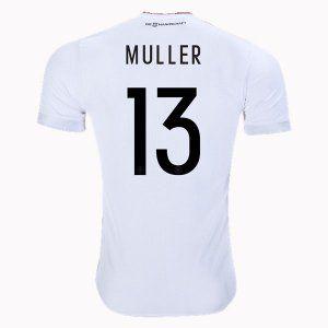 2786519ef Germany National Team 2017 #13 Muller White Soccer Jersey [I570 ...