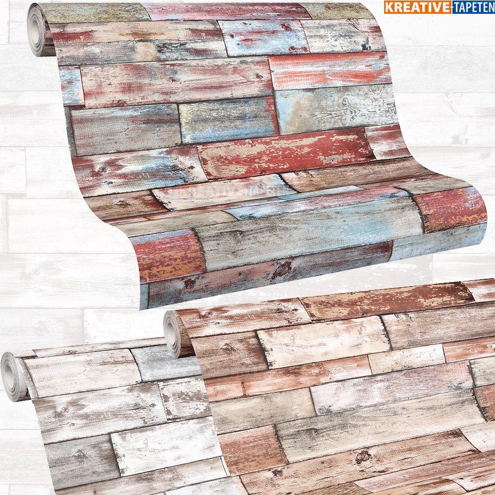details zu tapete holzoptik 2 25 m landhaus holz. Black Bedroom Furniture Sets. Home Design Ideas